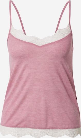 Pižaminiai marškinėliai 'WARM DAY' iš ETAM, spalva – margai rožinė / balta, Prekių apžvalga