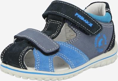 PRIMIGI Chaussures ouvertes en bleu fumé / bleu nuit / gris fumé, Vue avec produit