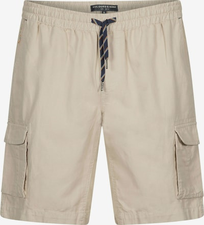 COLOURS & SONS Cargoshorts 'LUDOVIC' in beige, Produktansicht