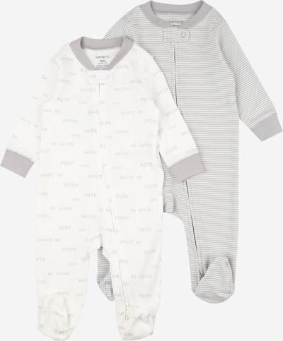 Carter's Overall in de kleur Grijs / Wit, Productweergave