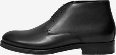 MANGO MAN Stiefeletten 'Safarina' in schwarz, Produktansicht