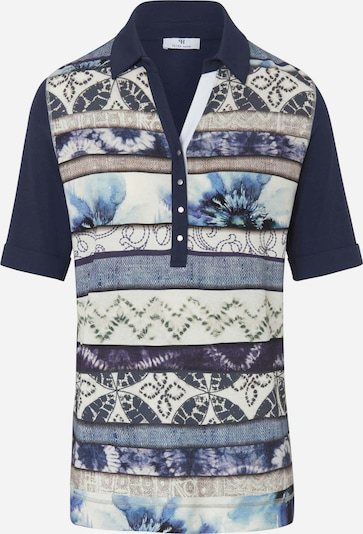 Peter Hahn Poloshirt in blau, Produktansicht