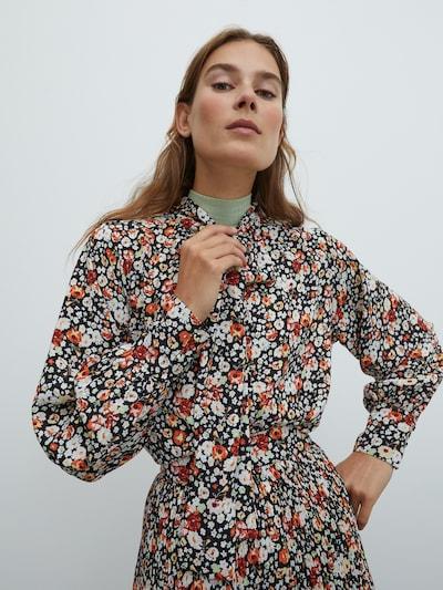 EDITED Bluza 'Clementine' | mešane barve barva, Prikaz modela