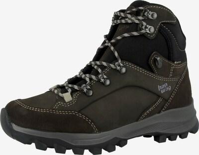 HANWAG Boots 'Banks Lady GTX' in de kleur Donkerbruin / Zwart, Productweergave