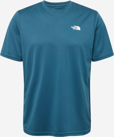THE NORTH FACE Camiseta funcional en azul cielo / blanco, Vista del producto