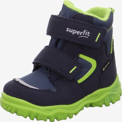 SUPERFIT Sniega apavi 'HUSKY1', krāsa - tumši zils / ābolu, Preces skats