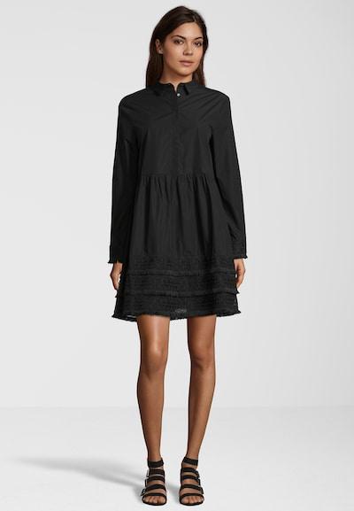 REPLAY Kleid mit Spitze in schwarz, Modelansicht