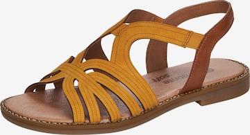 REMONTE Sandale in Gelb