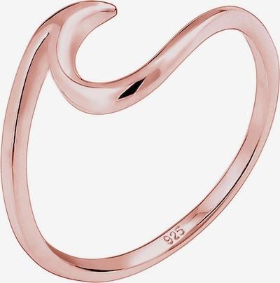 ELLI Gredzens 'Wellen', krāsa - rožzeltains, Preces skats
