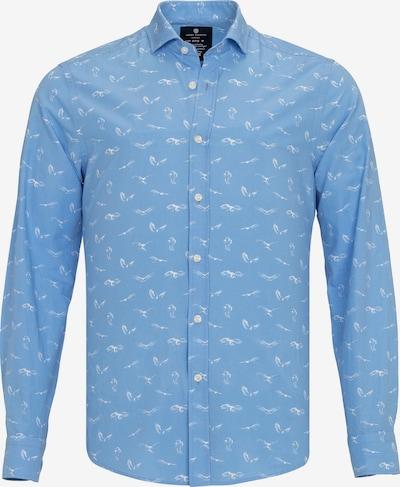 Jimmy Sanders Hemd in blau, Produktansicht