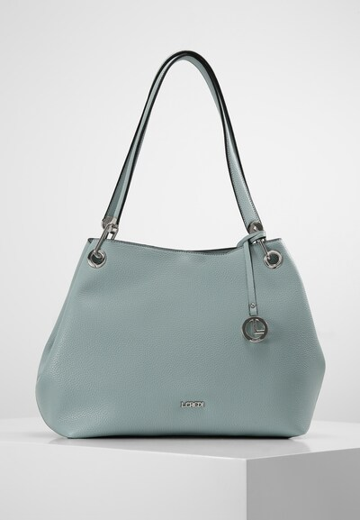 L.CREDI Shopper 'Ebony' in grün, Produktansicht