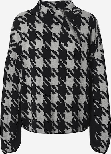monari Pull-over en gris / noir, Vue avec produit