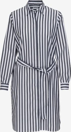 SEIDENSTICKER Kleid 'Schwarze Rose' in navy / weiß, Produktansicht