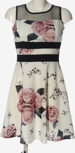 Styleboom Minikleid in M in pink / schwarz / wollweiß, Produktansicht
