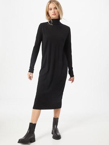 DRYKORN Kootud kleit 'Joseppa', värv must