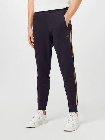 ADIDAS ORIGINALS Kalhoty - světle béžová / khaki / tmavě zelená / černá, Model/ka