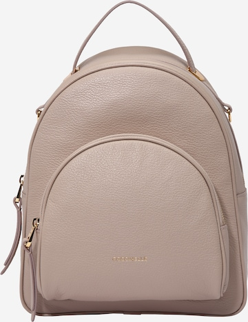 Coccinelle Backpack 'LEA' in Beige