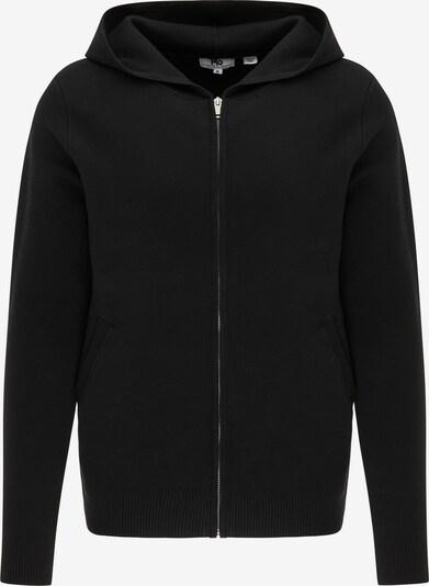 Mo ESSENTIALS Vestes en maille en noir, Vue avec produit