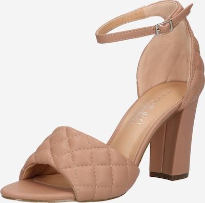 Sandale cu baretă Madden Girl pe maro deschis, Vizualizare produs