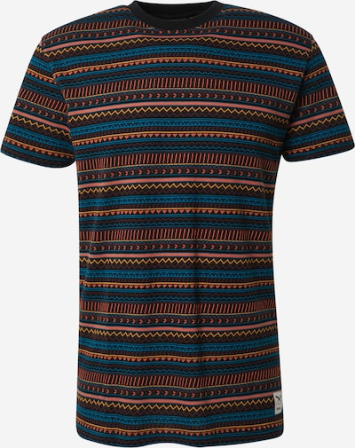 Iriedaily Tričko 'Chop Chop' - modrá / oranžová / čierna, Produkt