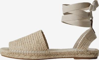 MANGO Sandale in beige, Produktansicht