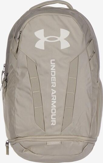 UNDER ARMOUR Sportrucksack in beige / weiß, Produktansicht