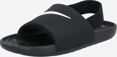 Nike Sportswear Zapatos abiertos 'KAWA' en negro / blanco, Vista del producto