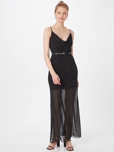 GUESS Kleid 'Anna' in schwarz / weiß, Modelansicht