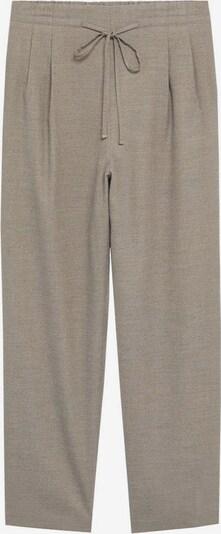 MANGO Pantalon à pince 'Flu' en gris, Vue avec produit