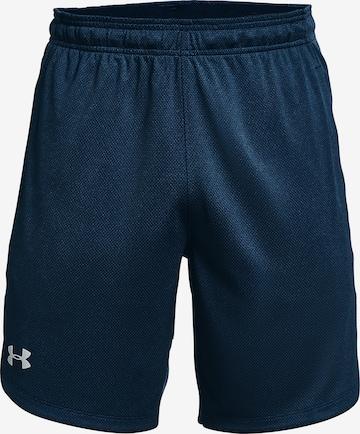 UNDER ARMOUR Sporthose in Blau