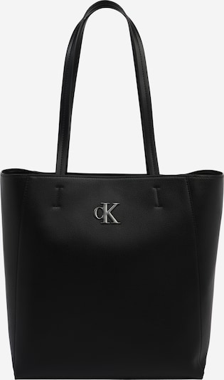 Calvin Klein Jeans Shopper in schwarz / silber, Produktansicht