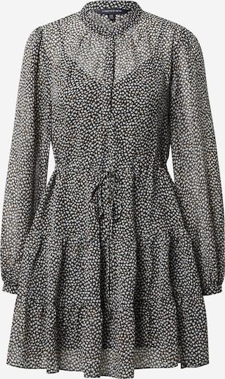 Forever New Robe-chemise 'DRAWCORD' en noisette / gris / noir / blanc, Vue avec produit
