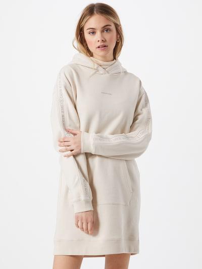 Calvin Klein Jeans Kleid in naturweiß, Modelansicht