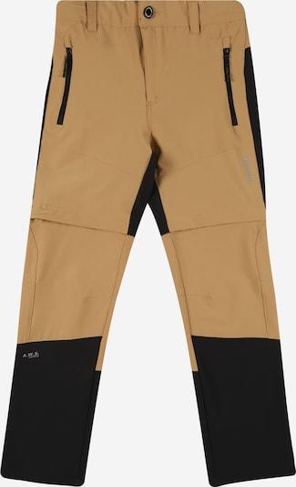 ICEPEAK Outdoorové nohavice 'Kayes Jr' - farba ťavej srsti / čierna, Produkt