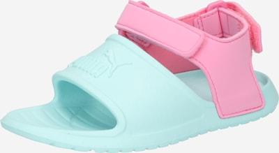 PUMA Chaussures ouvertes 'Divecat' en turquoise / rose, Vue avec produit