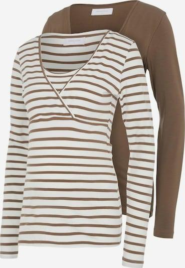 Maglietta MAMALICIOUS di colore beige / marrone, Visualizzazione prodotti