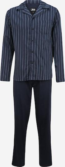 jbs Pyjama in marine / rauchblau / lila, Produktansicht