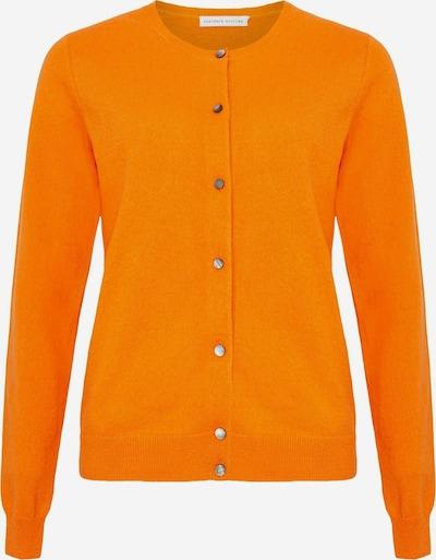 Cashmere Stories Strickjacke in orange, Produktansicht