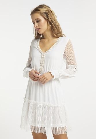 usha FESTIVAL Dress in White