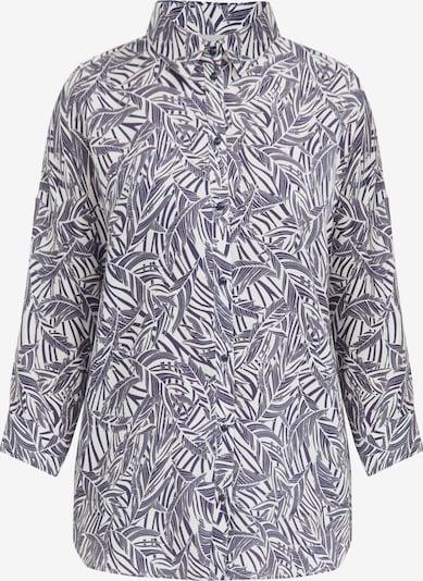 Finn Flare Langarm-Bluse in dunkelblau, Produktansicht