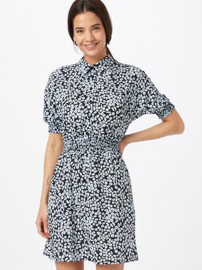 Trendyol Kleid in marine / hellblau / weiß, Modelansicht
