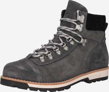 SELECTED HOMME Boots med snörning 'August' i grå