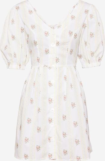 Rochie de vară GLAMOROUS pe galben pastel / mai multe culori, Vizualizare produs