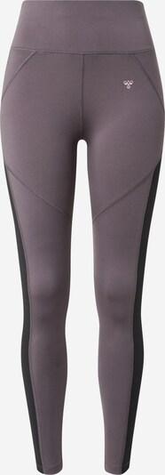 Pantaloni sport 'Norma' Hummel pe gri taupe / roz pastel / negru, Vizualizare produs