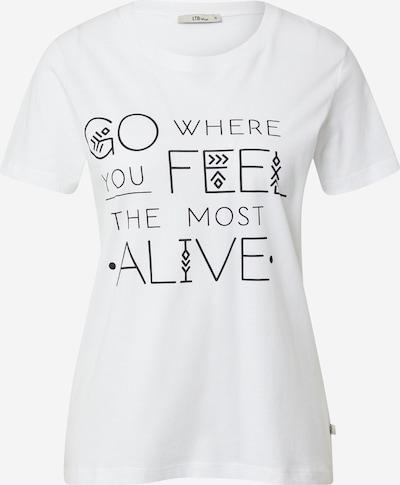 Tricou 'MARAFA' LTB pe negru / alb, Vizualizare produs