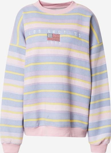 Daisy Street Sportisks džemperis, krāsa - debeszils / dzeltens / pasteļlillā / rožkrāsas, Preces skats