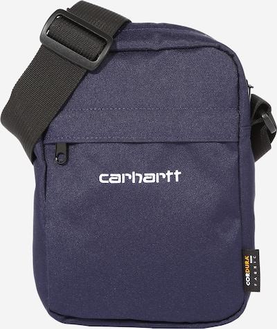 Carhartt WIP Schoudertas in de kleur Donkerblauw / Wit, Productweergave