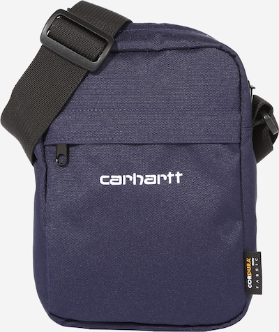 Carhartt WIP Taška cez rameno - tmavomodrá / biela, Produkt