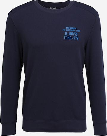 DIESEL Sweatshirt  'WILLY' in Blau