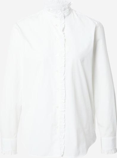 Weekend Max Mara Bluse  'AFGANO' in weiß, Produktansicht
